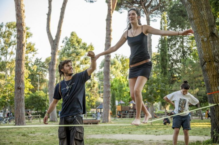 How to NOT look like an idiot slacklining